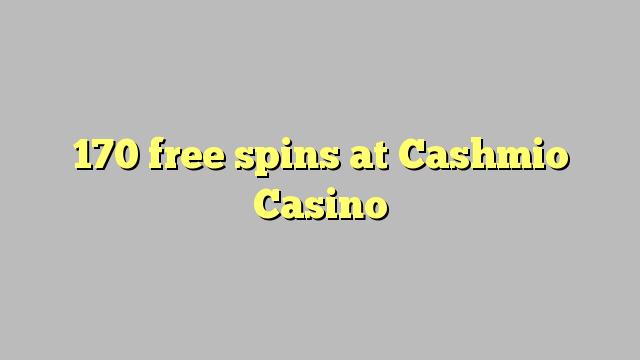 170 točí Cashmio kasíno zadarmo