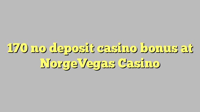 170 ekki inná spilavítum bónus á NorgeVegas Casino
