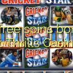 20 free spins bonus at Thrills Casino