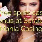 20 free spins casino bonus at Scratch Mania Casino