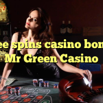 25 free spins casino bonus at Mr Green Casino
