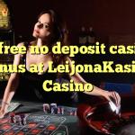 30 free no deposit casino bonus at LeijonaKasino Casino
