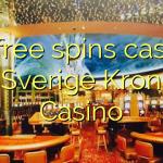 35 free spins casino at Sverige Kronan Casino