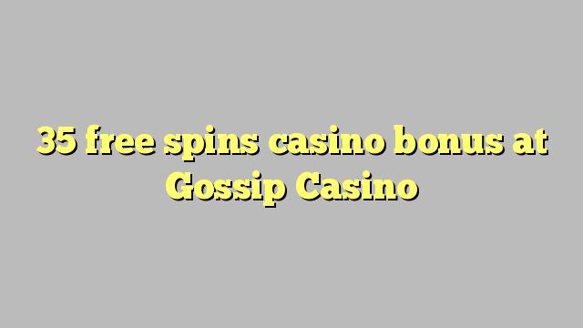 35 озод spins бонуси казино дар ғайбати Казино