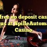 40 free no deposit casino bonus at SpilleAutomater Casino