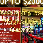 40 free spins bonus at MagicalVegas Casino