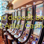 40 no deposit bonus at Adler Casino