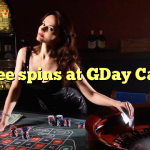 45 free spins at GDay  Casino