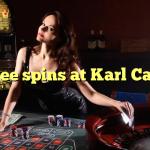45 free spins at Karl Casino