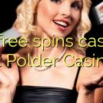 45 free spins casino at Polder Casino