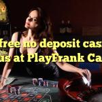 50 free no deposit casino bonus at PlayFrank Casino