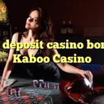 50 no deposit casino bonus at Kaboo Casino