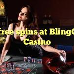 70 free spins at BlingCity Casino