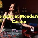 70 free spins at MondoFortuna Casino