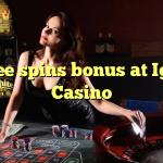 75 free spins bonus at Igame Casino