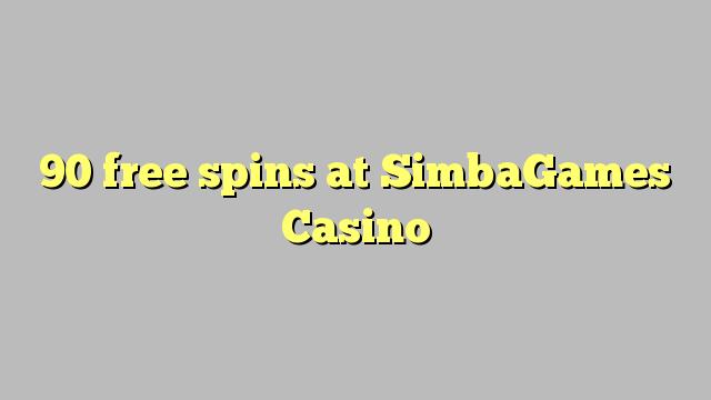 90 bezplatná otočení v kasinu SimbaGames