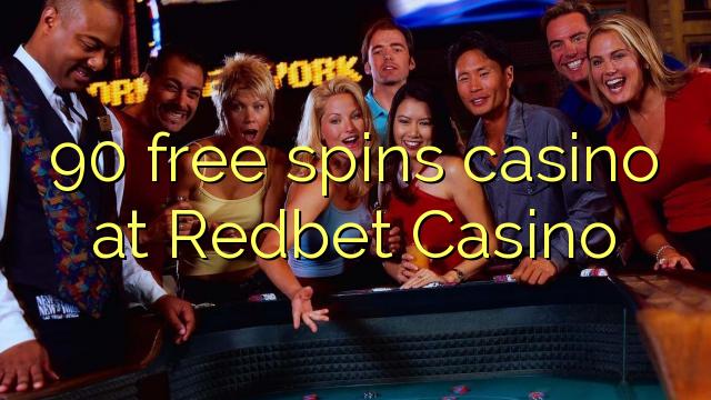 90 bébas spins kasino di Redbet Kasino