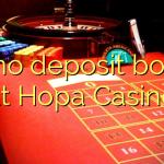 95 no deposit bonus at Hopa Casino