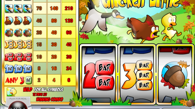 Chicken Little slot falas