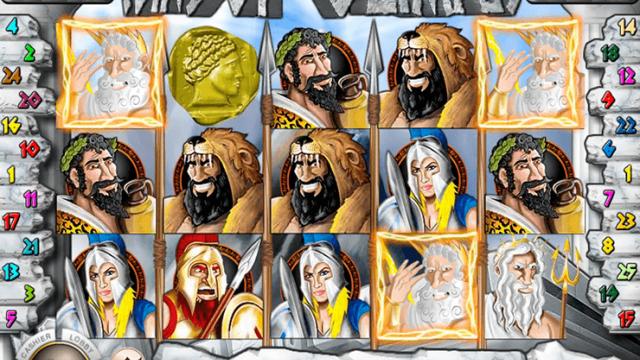 Mince z bezplatných slotů Olympus