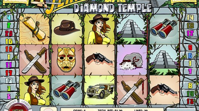 Temple Diamond (Jenny Nevada) jeu de slot libre