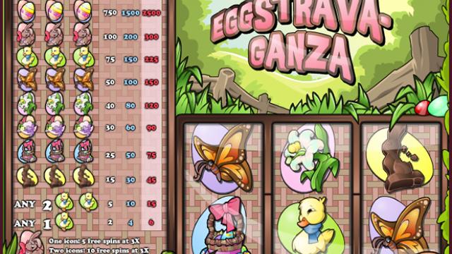 Eggstravaganza ücretsiz slot