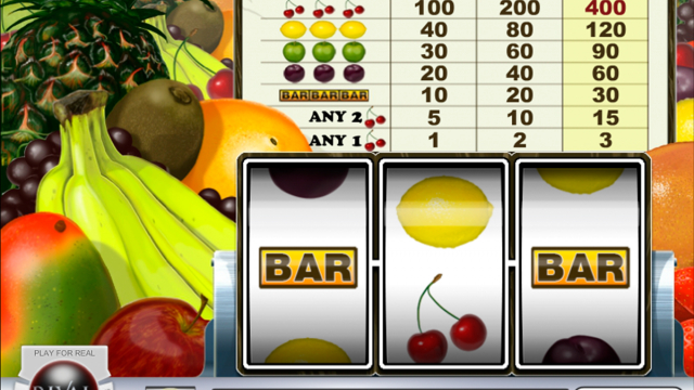 Fantastic Fruit vrij slot