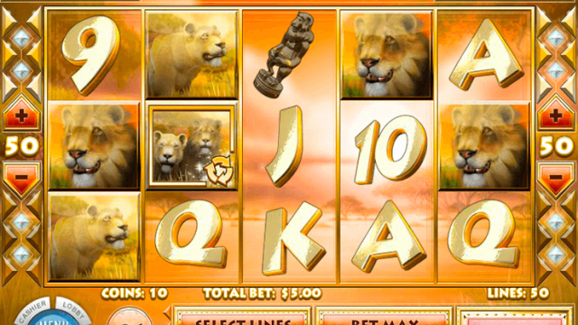 Lions Roar free slot game