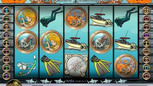 Oceano Treasure slot livre