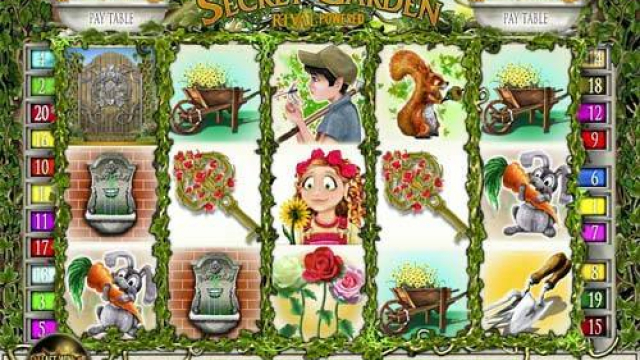 Secret Garden jeu slot libre