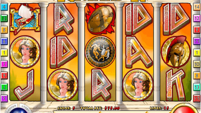 Spartan Warrior gratis slot