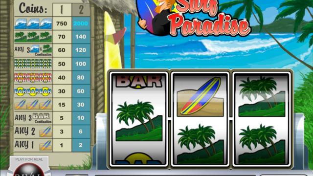 Surf Paradise gratis slot