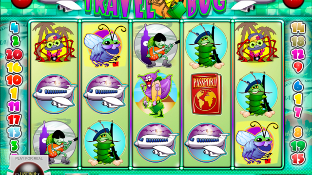 Travel Bug vrij slot