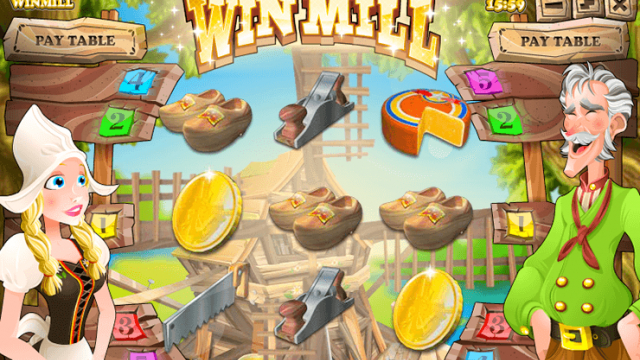 Win Mill vrij slot
