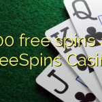 100 free spins at FreeSpins Casino