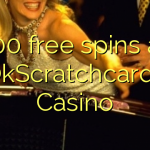 100 free spins at OkScratchcards Casino
