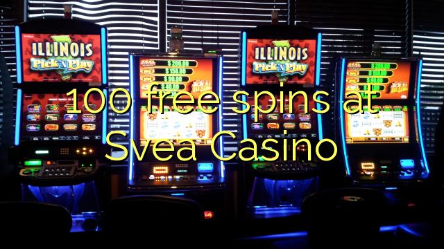 100 vapaa kierrokset Svea Casinolla