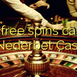 100 free spins casino at Nederbet  Casino
