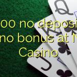 100 no deposit casino bonus at Netti  Casino