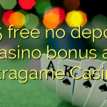 105 free no deposit casino bonus at Intragame Casino