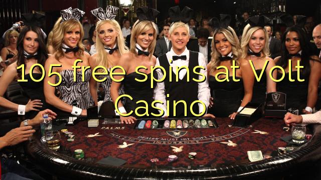105 free spins at Volt Casino