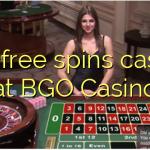 105 free spins casino at BGO Casino