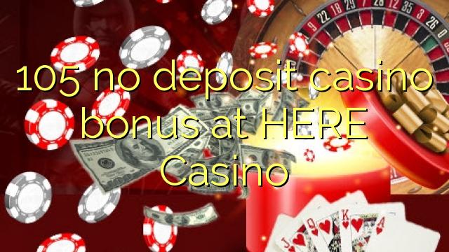 105 нест пасандози бонуси казино дар ИН ҶО Казино