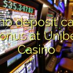 105 no deposit casino bonus at Unibet Casino