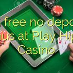115 free no deposit bonus at Play Hippo Casino