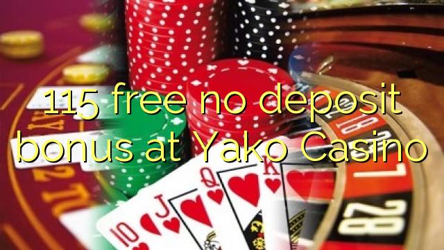 no deposit bonus yako casino