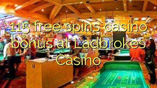 115 मुक्त Ladbrokes कैसीनो में कैसीनो बोनस spins