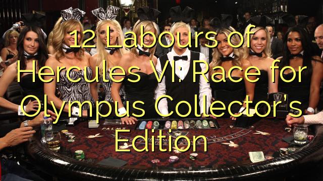 12 Pracuje Hercules VI: Race pro Olympus sběratelské edice