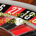 120 free spins casino at Rizk Casino
