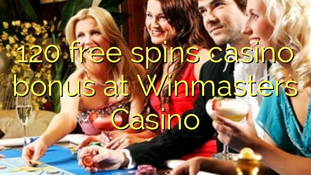 120 bébas spins bonus kasino di Winmasters Kasino